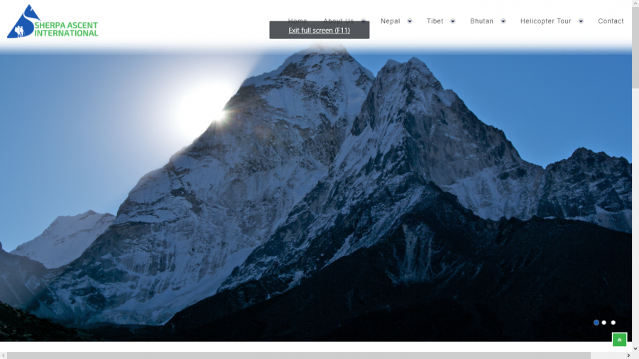 Sherpa web design