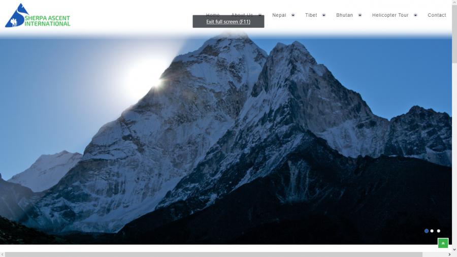 Sherpa web design