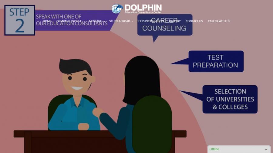 Dolphin web design