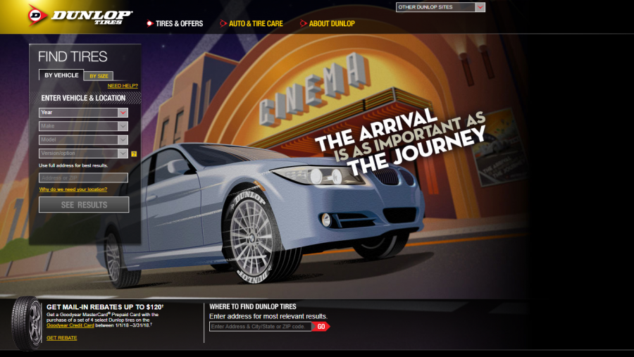 Dunlop web degin